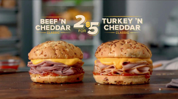 Arby's Beef 'N Cheddar Classic TV Spot - Thumbnail 9