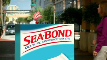 Sea Bond Adhesive Wafers TV Spot, 'Lose Ooze' - Thumbnail 1