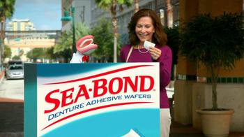 Sea Bond Adhesive Wafers TV Spot, 'Lose Ooze' - Thumbnail 10