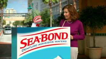 Sea Bond Adhesive Wafers TV Spot, 'Lose Ooze' - Thumbnail 5