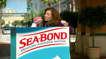 Sea Bond Adhesive Wafers TV Spot, 'Lose Ooze' - Thumbnail 7