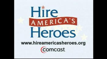 Comcast TV Spot, 'Hire America's Heroes' - Thumbnail 8