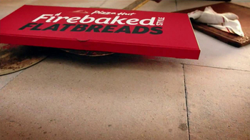 Pizza Hut Firebaked Flatbreads TV Spot - Thumbnail 7