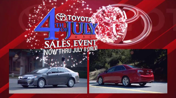 Toyota Fourth of July Sales Event TV Spot - Thumbnail 3