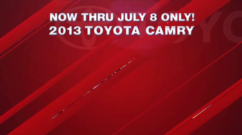 Toyota Fourth of July Sales Event TV Spot - Thumbnail 4