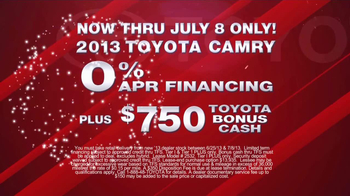 Toyota Fourth of July Sales Event TV Spot - Thumbnail 5