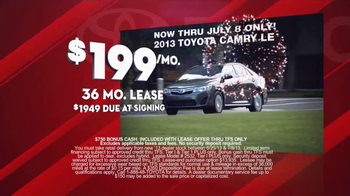 Toyota Fourth of July Sales Event TV Spot - Thumbnail 6