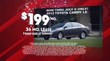 Toyota Fourth of July Sales Event TV Spot - Thumbnail 7