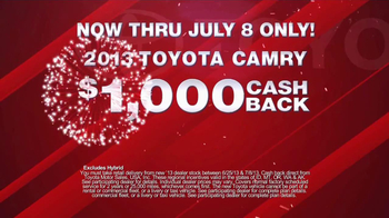 Toyota Fourth of July Sales Event TV Spot - Thumbnail 8