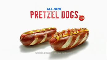Sonic Drive-In Pretzel Dogs TV Spot, 'Stadium' - Thumbnail 10