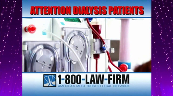 1-800-LAW-FIRM TV Spot, 'Dialysis' - Thumbnail 3