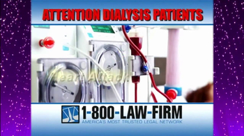 1-800-LAW-FIRM TV Spot, 'Dialysis' - Thumbnail 4