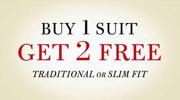 JoS. A. Bank TV Spot, 'Buy 1 Suit Get 2 Free' - Thumbnail 9
