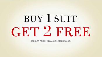 JoS. A. Bank TV Spot, 'Buy 1 Suit Get 2 Free' - Thumbnail 2