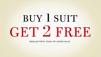 JoS. A. Bank TV Spot, 'Buy 1 Suit Get 2 Free' - Thumbnail 3
