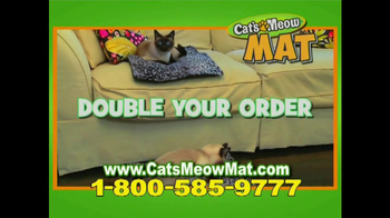 Cat's Meow Mat TV Spot - Thumbnail 10