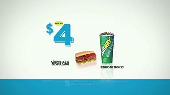Subway $4 Lunch TV Spot [Spanish] - Thumbnail 9