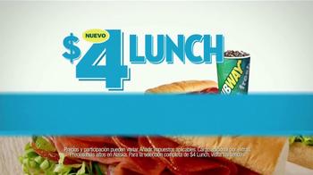 Subway $4 Lunch TV Spot [Spanish] - Thumbnail 2