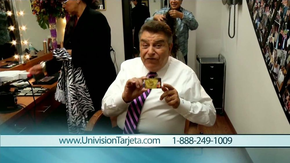 Tarjeta Prepagada Univision TV Commercial Con Don Francisco