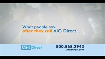 AIG Direct TV Spot - Thumbnail 4