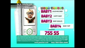 Jamster TV Spot, 'Baby Sounds' - Thumbnail 7