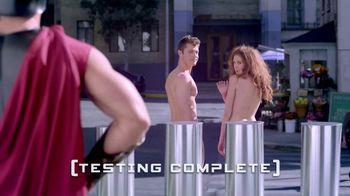 Trojan Pure Ecstasy TV Spot, 'Sidewalk Test'