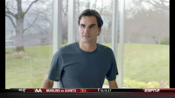 Nike Free TV Spot, 'Fly' Featuring Roger Federer - 5 commercial airings
