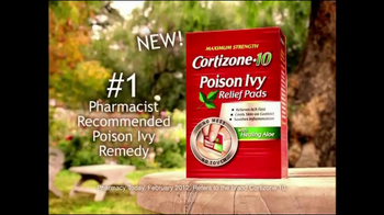 Cortizone 10 Poison Ivy Relief Pads TV Spot, 'Poison Ivy' - Thumbnail 4