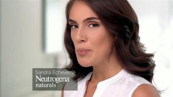 Neutrogena Naturals TV Spot Con Sandra Echeverría [Spanish] - Thumbnail 1