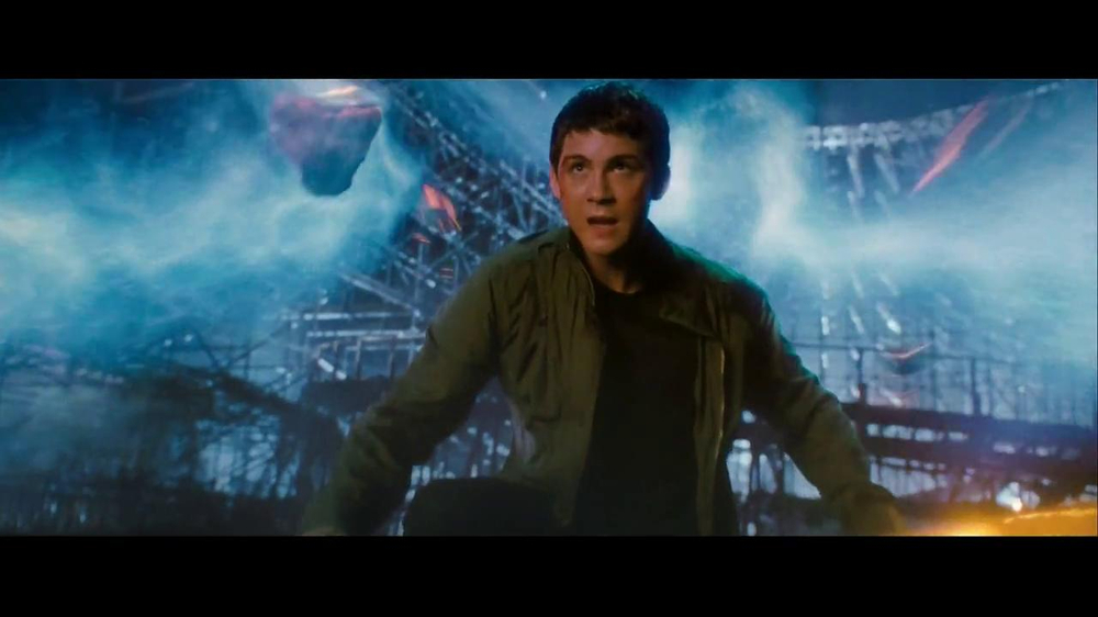 Percy Jackson Sea of Monsters TV Movie Trailer