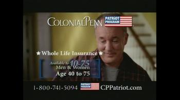 Colonial Penn Patriot Program TV Spot, 'Welcome Home' - Thumbnail 6
