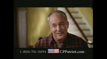 Colonial Penn Patriot Program TV Spot, 'Welcome Home'