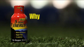 5 Hour Energy TV Spot Featuring Bo Jackson - Thumbnail 1