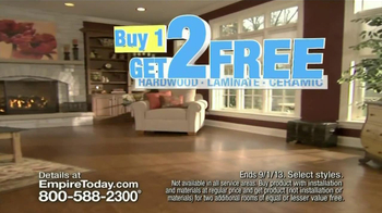 Empire Today TV Spot, 'Buy One, Get Two Free' - Thumbnail 2