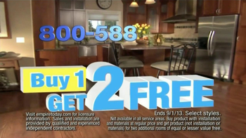 Empire Today TV Spot, 'Buy One, Get Two Free' - Thumbnail 4