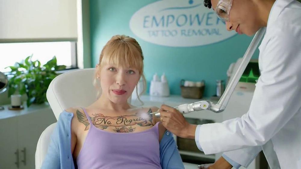 Bounce Dryer Bar TV Commercial, 'Tattoo Removal'