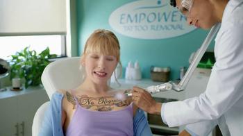 Bounce Dryer Bar TV Spot, 'Tattoo Removal' - Thumbnail 5