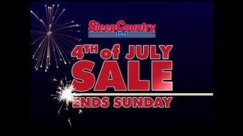 Sleep Country USA TV Spot, '4th of July Sale'