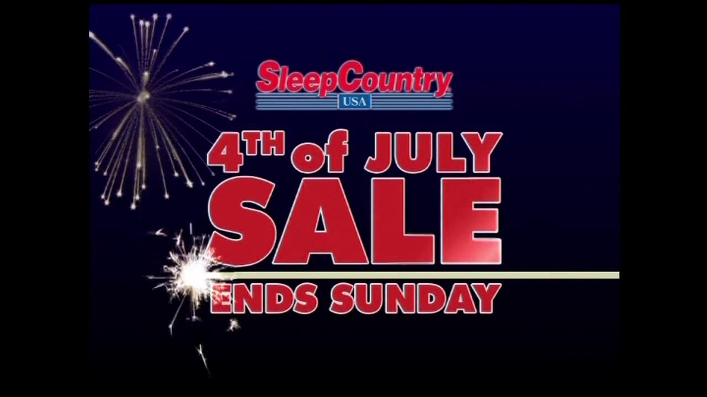 Sleep Country Usa Tv Commercial 4th Of July Sale Ispot Tv