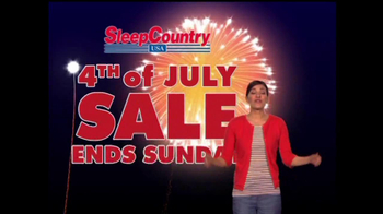 Sleep Country USA TV Spot, '4th of July Sale' - Thumbnail 9