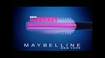 Maybelline New York Rocket Volum' Express TV Spot [Spanish] - Thumbnail 4