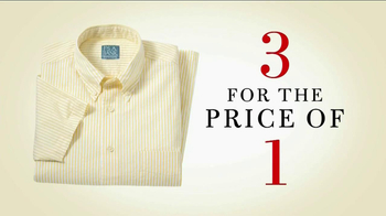 JoS. A. Bank TV Spot, '3 For the Price of 1' - Thumbnail 8