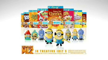 General Mills TV Spot, 'Despicable Me 2 Mini Minion' - Thumbnail 9