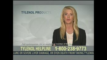 Levin Law TV Spot, 'Tylenol Helpline'