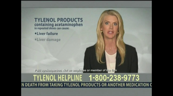 Levin Law TV Spot, 'Tylenol Helpline' - Thumbnail 5