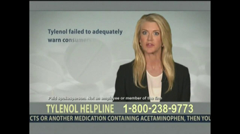 Levin Law TV Spot, 'Tylenol Helpline' - Thumbnail 6