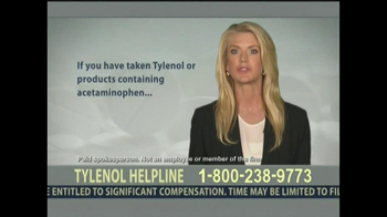 Levin Law TV Spot, 'Tylenol Helpline' - Thumbnail 8