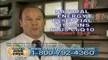 Youth Infusion TV Spot Featuring George Hamilton - Thumbnail 5