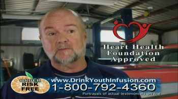 Youth Infusion TV Spot Featuring George Hamilton - Thumbnail 6