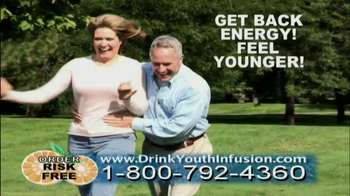 Youth Infusion TV Spot Featuring George Hamilton - Thumbnail 8